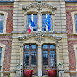 Stockfoto: City hall of Vetheuil in Val d Oise