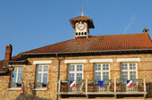 France, the city hall of Chapet — Stock Photo