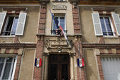 France, the city hall of Ambleville — Stock Photo