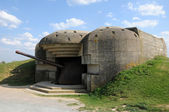 Artillery battery of Longues sur Mer in Basse Normandie — Stock Photo