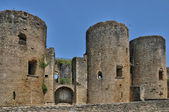 Średniowieczny zamek Villandraut w gironde — Zdjęcie stockowe