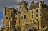 Middle age castle of Beynac in Dordogne — Stock Photo