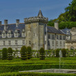 Villandry castle in Val de Loire — Stock Photo