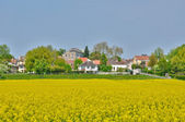 France, the village of Drocourt in Ile de France — Stock Photo