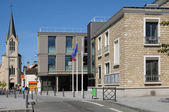 France, the city hall of Les Mureaux — Stock Photo