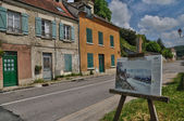 France, the village of Vetheuil in Val d Oise — Stock Photo