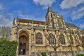 France, the Saint Martin church of Triel sur Seine — Stock Photo