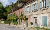 Francja, wieś vetheuil w val d oise — Zdjęcie stockowe