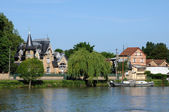 France, the city of Triel sur Seine — Stock Photo