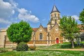 Francja, kościół saint martin la garenne w les yvelines — Zdjęcie stockowe