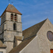 France, the church of Boinville en Mantois — Stock Photo