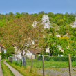 Village of Haute Isle in Val d Oise — Stock Photo
