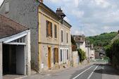 Francia, il villaggio di vetheuil nella val d'oise — Foto Stock