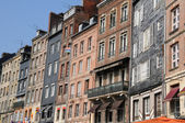 Old house in the commune of Honfleur in Normandie — Stock Photo