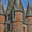 Renaissance castle of Carrouges in Normandie — Stock Photo