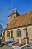 France, the Saint Remy church of Marcq — Stok fotoğraf