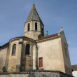 Saint Denis church of Brueil en Vexin — Stock Photo