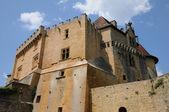 Perigord, the picturesque castle of Biron in Dordogne — Stock Photo