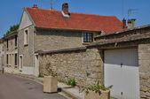 Francja, miejscowości oinville sur montcient — Zdjęcie stockowe
