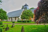 Church of Rosay sur lieure in Normandie — Stockfoto