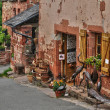 Picturesque village of Collonges la Rouge — Stockfoto