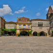 Village of Monpazier in Perigord — Stock Photo