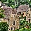 Perigord, the picturesque village of Carsac Aillac in Dordogne — Stock Photo