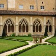 France, the Cadouin abbey in Perigord — Stock Photo