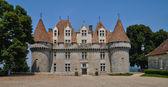 Perigord, the picturesque castle of Monbazillac in Dordogne — Stock Photo