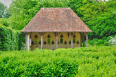 Les Jardins du Pays d Auge in Cambremer in Normandie — Stock Photo
