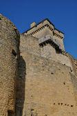 France, picturesque castle of Castelnaud in Dordogne — Stock Photo