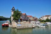 France, Port Cergy in Cergy-Pontoise — Stock Photo