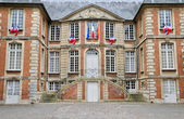France, ity hall of Pont l Eveque in Normandie — Stock Photo