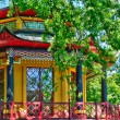 Chinese house of Cassan in L Isle Adam — Stock Photo