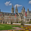 Stock Photo: France, city of Caen in Normandie