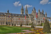 France, the city of Caen in Normandie — Stock Photo