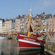 Stock Photo: Port of Honfleur in Normandie
