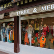Shop in Deauville in Normandie — Stock Photo