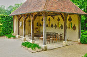 Les jardins du pays d auge in cambremer in normandia — Foto Stock
