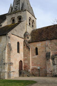France, the church of Gaillon sur Montcient in Les Yvelines — Stock Photo