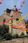 Perigord, the Saint Jacques church of Bergerac in Dordogne — ストック写真