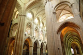 Caen, the abbaye aux Hommes in France — Stock Photo