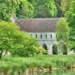 Abbey of Fontaine Guerard in Radepont — Stock Photo #33790685
