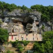 Stock Photo: Perigord, picturesque Maison Forte de Reignac in Dordogne