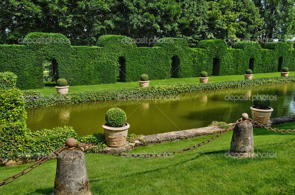 Franciaorsz g a fest i jardins du manoir d eyrignac - Jardin du manoir d eyrignac ...