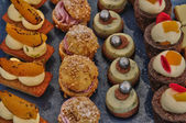 French assortment of petits fours — Stock Photo