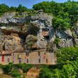 Perigord, the picturesque Maison Forte de Reignac in Dordogne — Stock Photo
