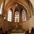 France, the interior of the church of Vigny in Val d Oise — Stock Photo
