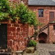 Picturesque village of Collonges la Rouge — Stock Photo