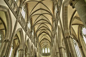 Notre Dame des Champs church in Avranches — Stock Photo